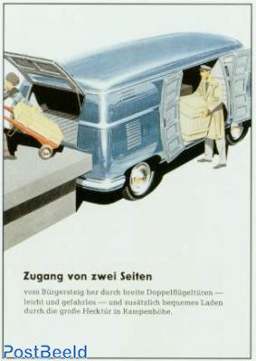 Volkswagen Transporter, 2 entrances