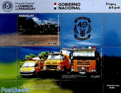 40 years Fire brigade s/s