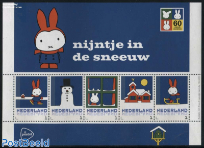 Miffy in the snow 5v m/s