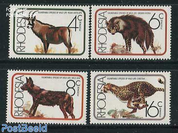 African mammals 4v