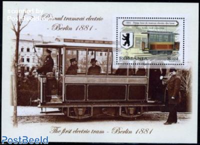 First electric tram, Berlin s/s