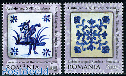 Tiles 2v, joint issue Portugal