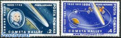 Halleys comet 2v