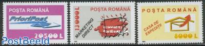 Postal service 3v