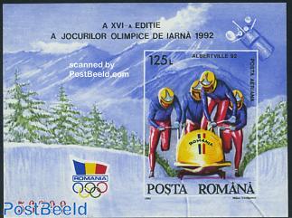 Olympic Games Albertville s/s (Bob)
