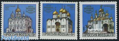 Kremlin churches 3v