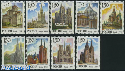 Worldwide Cathedrals 9v