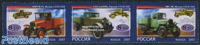 Russian trucks 3v