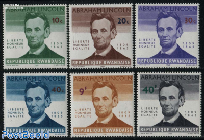 Abraham Lincoln 6v