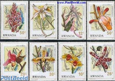 Orchids 8v