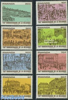 150 years Belgium 8v
