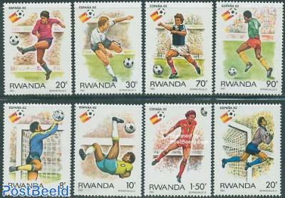 World Cup Football Spain 8v