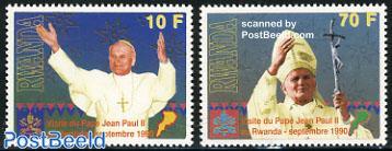 visit of pope John Paul II 2v