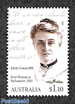 Edith Cowan, first woman in parliament 1v