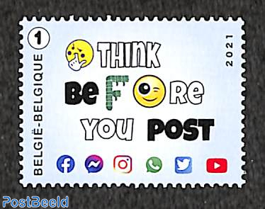 Think before you post 1v