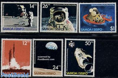 Moonlanding anniversary 6v