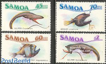 Deep sea fish 4v