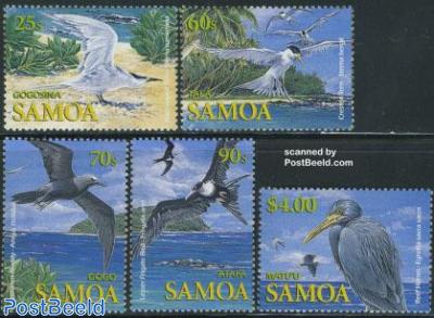 Seabirds 5v
