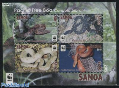 WWF, Pacific Tree Boa s/s