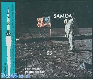 Moonlanding anniversary s/s
