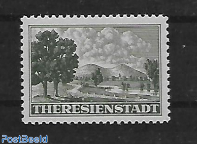 Package stamp for the Ghetto Theresienstadt