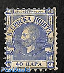 40Pa, normal paper, Stamp out of set