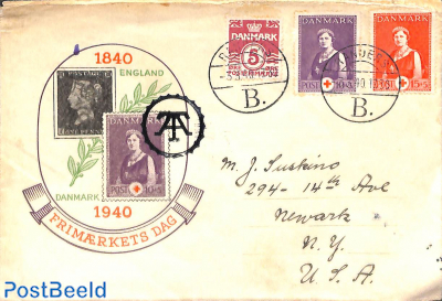 Stamp day cover