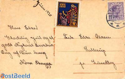 Postcard with Jul seal
