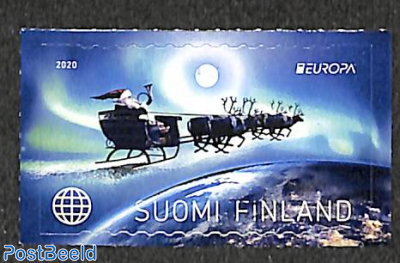 Stamp 2020 Finland Europa Old Postal Roads 1v S A 2020