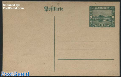 Postcard 10c, Philatelistentag 1924