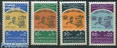 Nubian monuments 4v