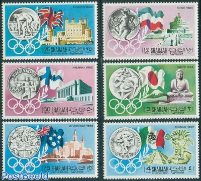 Olympic history 6v