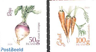 Garden vegetables 2v s-a