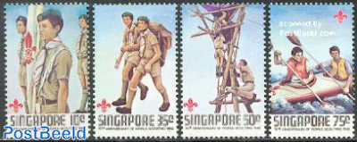 World scout movement 4v