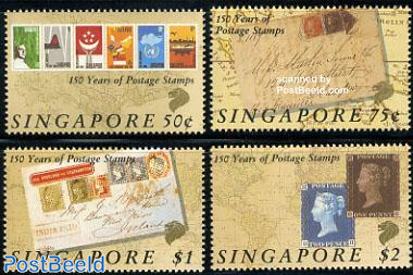 150 years stamps 4v