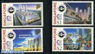 Stamp exposition 4v