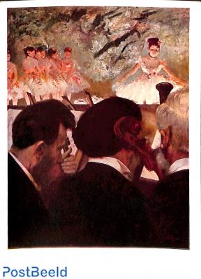 Edgar Degas, Musiciens à l'orchèstre