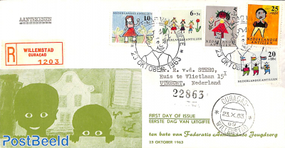 Child welfare 5v, FDC (with address)