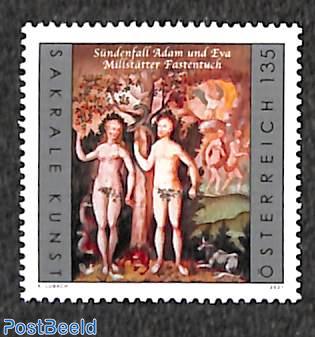 Adam & Eva, sacral art 1v