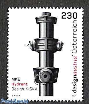 MKE hydrant, design: KISKA 1v