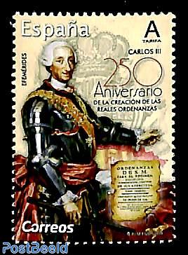 King Carlos III 1v