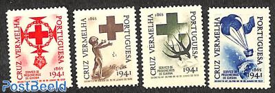 Red Cross seals 4v