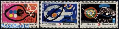 Olympic Games Barcelona 1992 3v