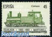 Igualada-Martorell railway 1v