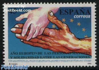 European senior people year 1v