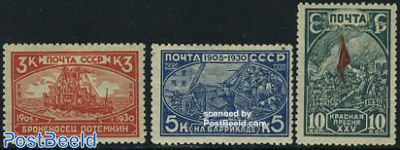 Revolution of 1905 3v
