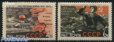 Kursk battle 2v