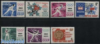 Olympic winter winners 7v