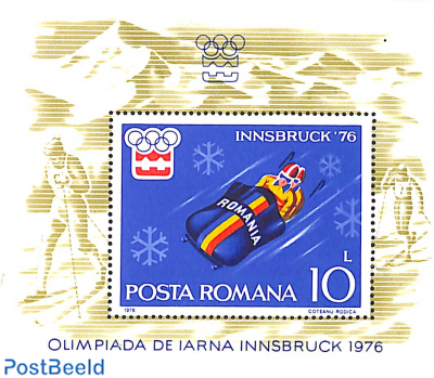 Olympic Winter Games Innsbruck s/s (Bob)