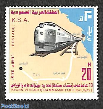 Damman-Ryad railway 1v